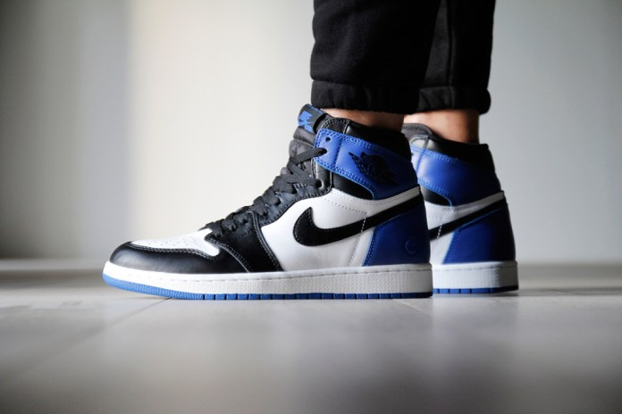 The fragment design x Air Jordan 1s Are Receiving a Restock