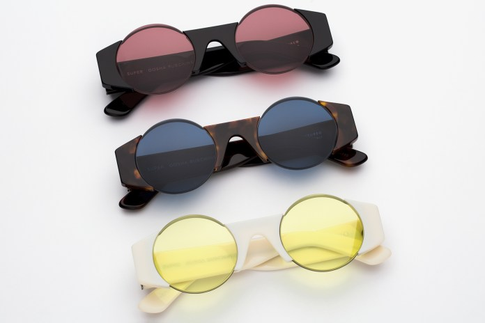 Gosha Rubchinskiy and SUPER by RETROSUPERFUTURE Team up for an Eyewear Collection
