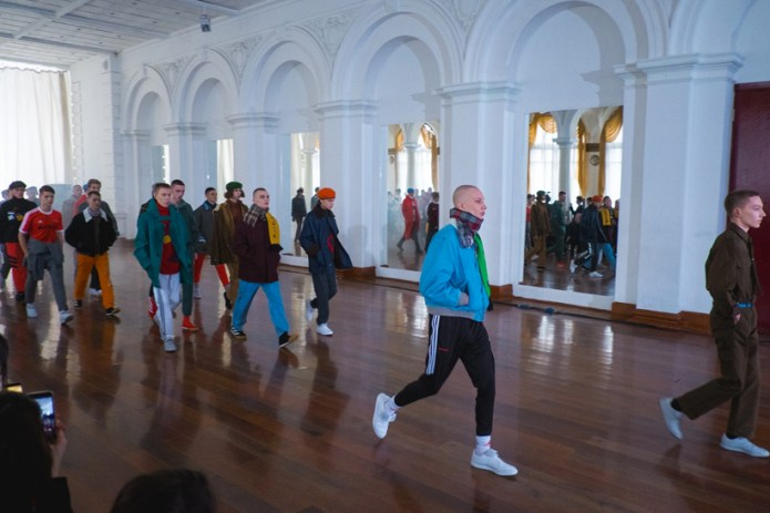 Watch the Gosha Rubchinskiy 2017 Fall/Winter Collection Runway Show