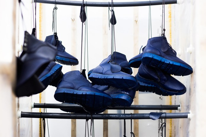 Viberg & HAVEN Release Overdyed Indigo & Black Service Boots