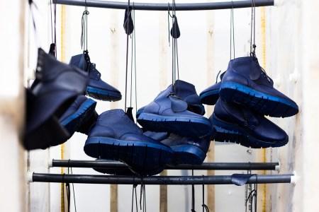 Viberg & HAVEN Release Overdyed Indigo & Black Service Boots