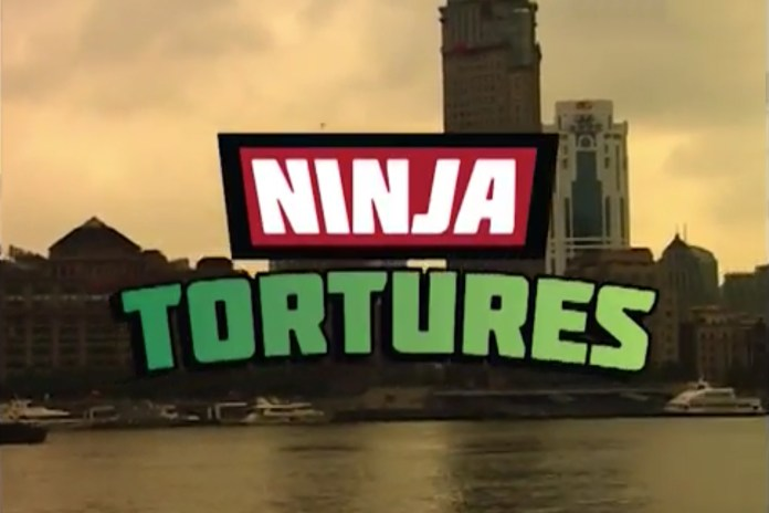"Hélas Takes to the Streets of Shanghai for ""Ninja Tortures"""