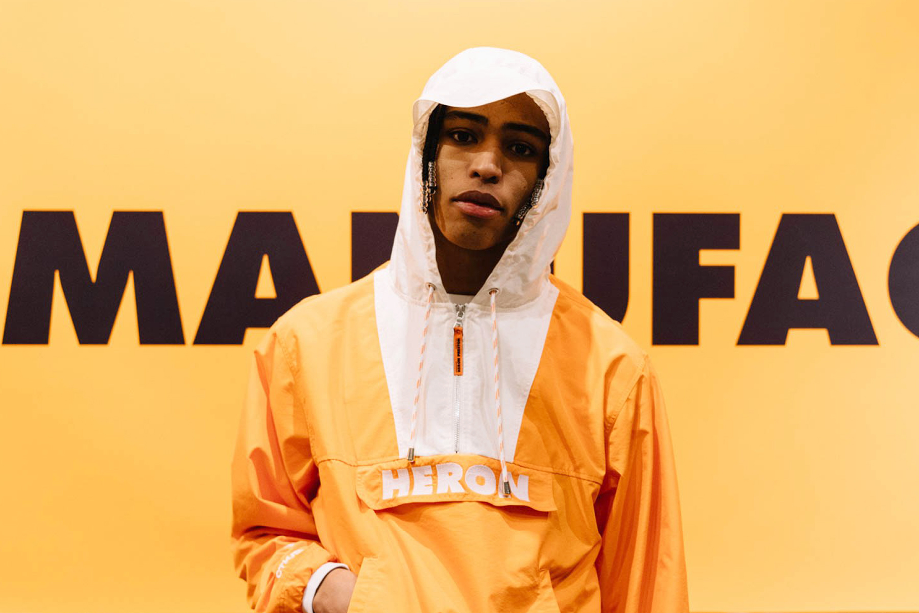 "Take a Look Inside Heron Preston's ""For You, The World"" 2017 Fall/Winter Collection"