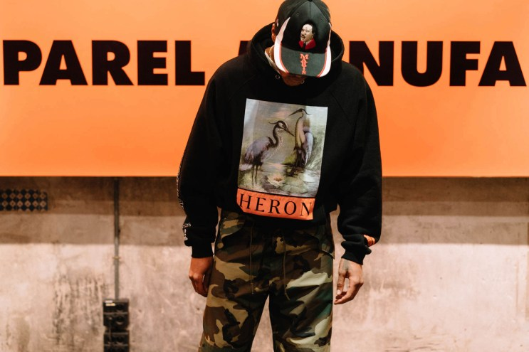Heron Preston Shares His Thoughts on Pollution & the Politics of Fashion