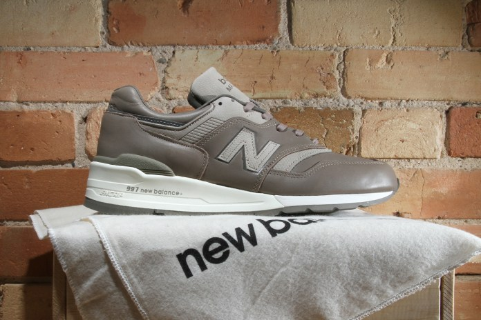 Horween Leather Returns to the New Balance 997