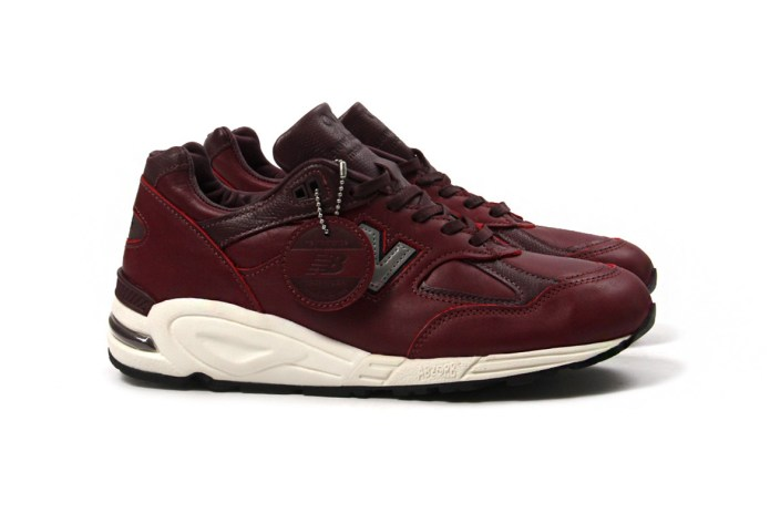 New Balance Covers the 990v2 in Burgundy Horween Leather
