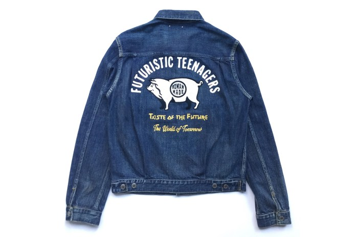 HUMAN MADE x MINEDENIM Unveil a Collaborative Retro Denim Jacket