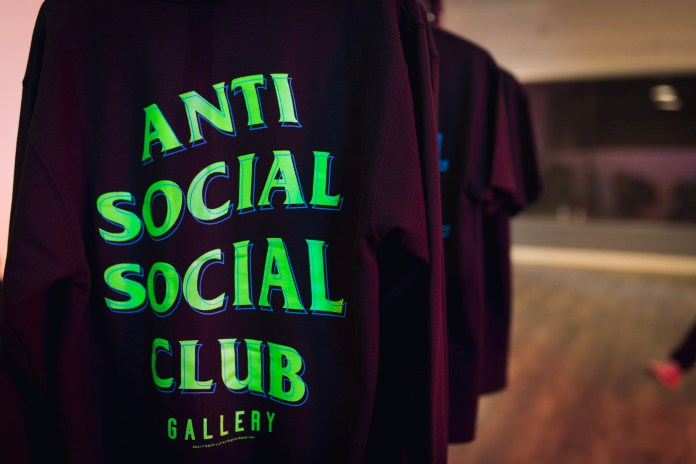 This Is What Went Down at the Anti Social Social Club x RSVP Gallery Launch