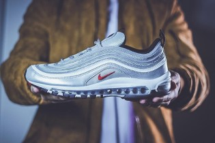 """HYPEFEET: Nike's Air Max 97 """"Silver Bullet"""" Flies off of the Shelves Faster Than Its Nickname"""