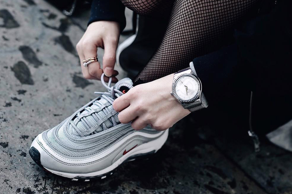 Cheap Nike Air Max 97 Black White Cladem