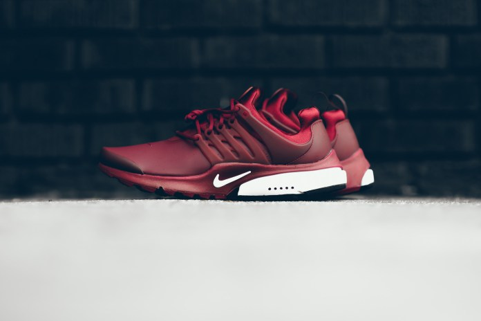 "A Closer Look at The ""Team Red"" Nike Air Presto Low Utility"