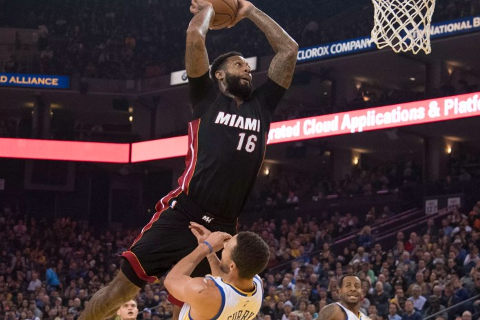 Watch James Johnson Dunk All Over Stephen Curry