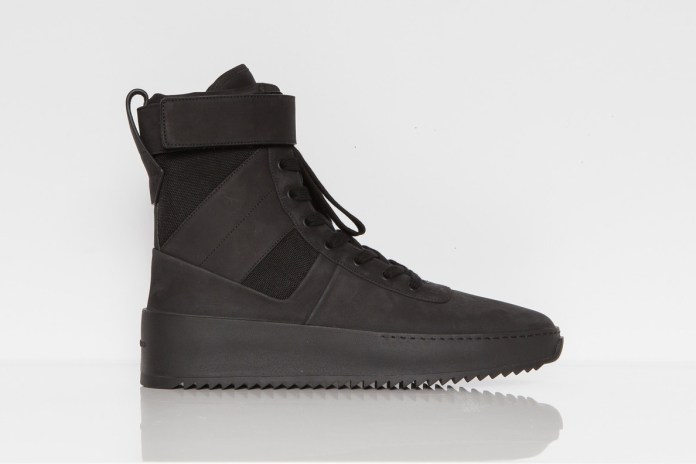 Jerry Lorenzo Relaunches Maxfield LA Exclusive Fear of God Military Military Sneakers
