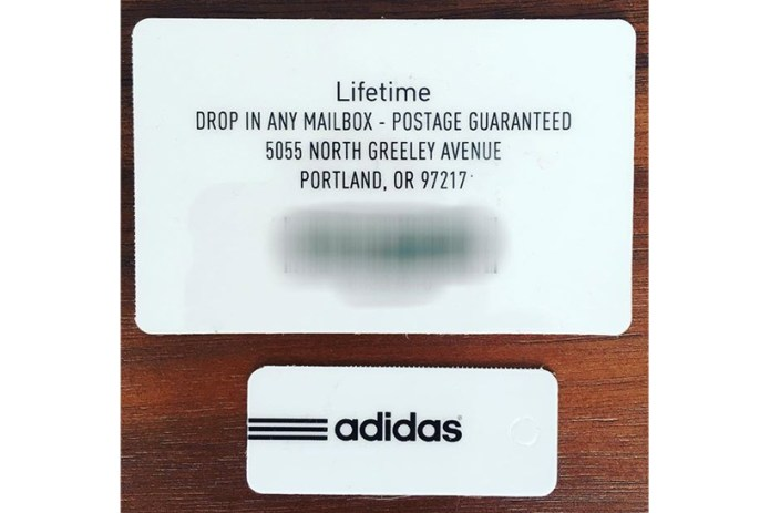 Jon Wexler Has a Lifetime adidas Gift Card
