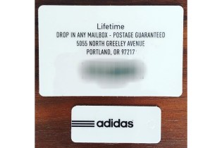 Jon Wexler Has a Lifetime adidas Gift Card