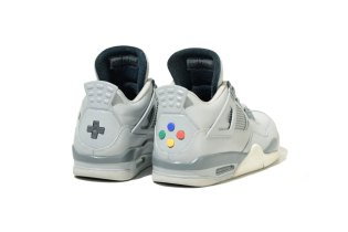 "The Jordan 4 ""Super Nintendo"" Custom Combines Your Love for Sneakers and Gaming"