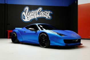 Justin Bieber's Custom-Built Ferrari 458 Is up for Auction
