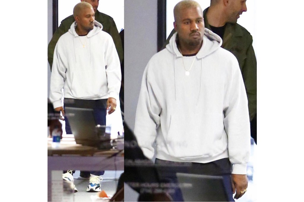 Kanye West Hits the Town Sporting adidas' Upcoming 2017 ...