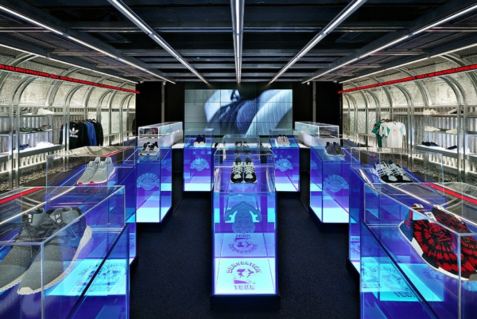 An Inside Look at Kasina's adidas Concept Store, DAS107