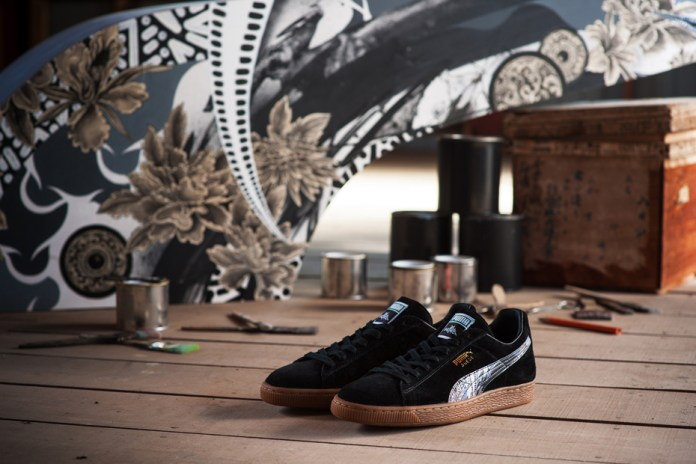 PUMA Crafts a Japanese-Made Suede With KICKS LAB. & 81 Bastards