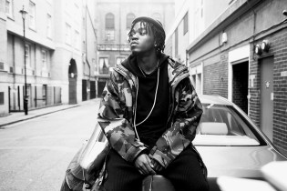 Pro Era's Kirk Knight Is Featured in Rabbithole London's New Monochromatic Lookbook