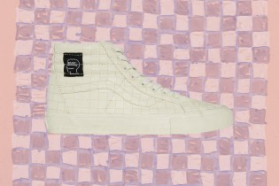 Kyle Ng on Brain Dead's Vans Sk8-Hi for Dover Street Market