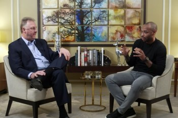 Larry Bird Talks International Hoops with Arsenal Legend Thierry Henry