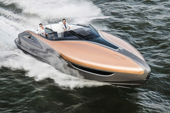 Lexus Looks to Conquer the Sea With New Yacht Concept