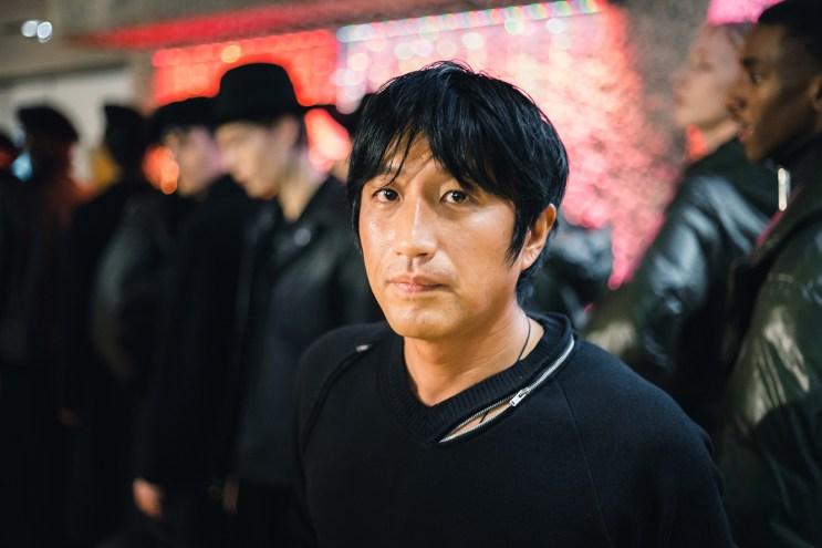 London Fashion Week Men's: Backstage at Mihara Yasuhiro