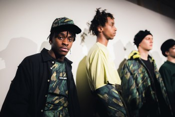 London Fashion Week Men's: Backstage at Liam Hodges