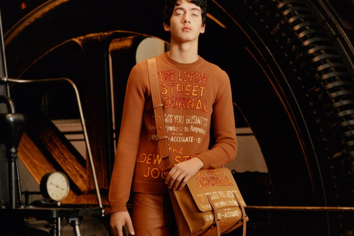 Loewe's 2017 Fall/Winter Collection Lookbook Is About Youthful Anarchy