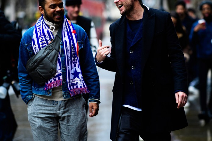 Streetsnaps: London Fashion Week Men's Day 2
