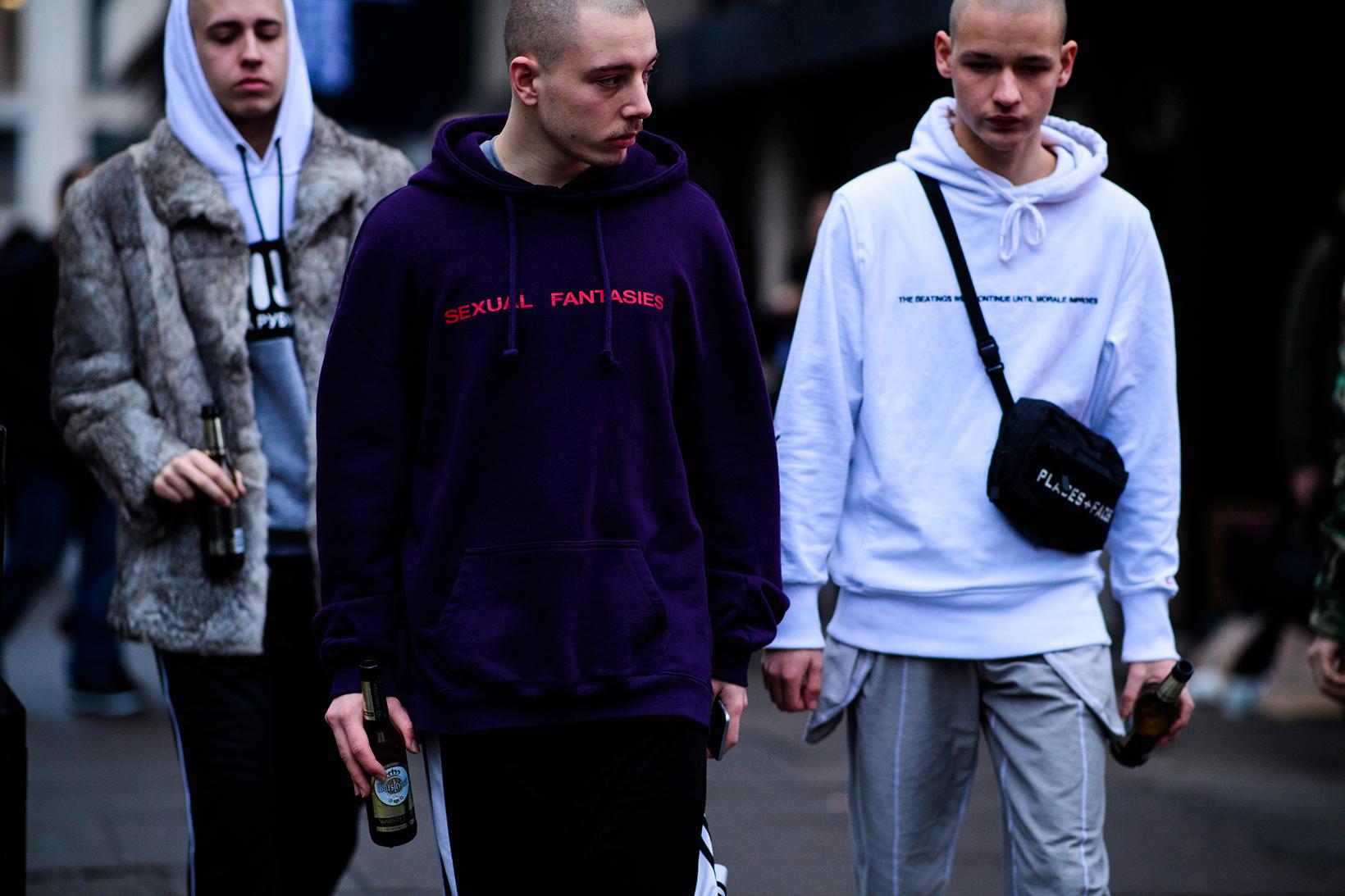 London Fashion Week 2017 Fall Winter Men's Day 4 - 1842503