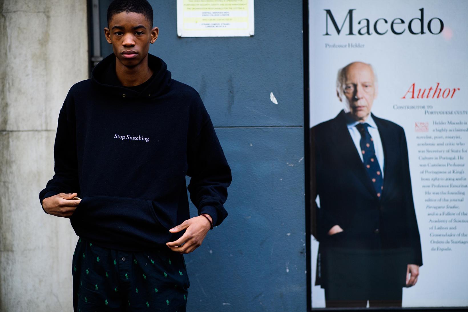 London Fashion Week 2017 Fall Winter Men's Day 4 - 1842491
