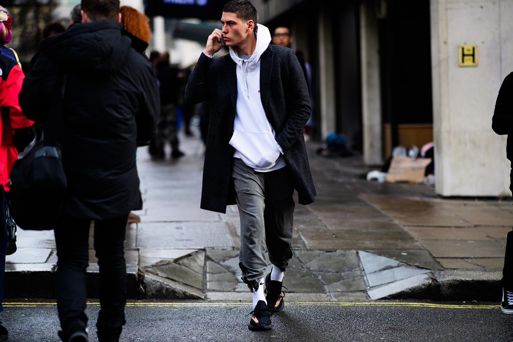 London Fashion Week 2017 Fall Winter Men's Day 4