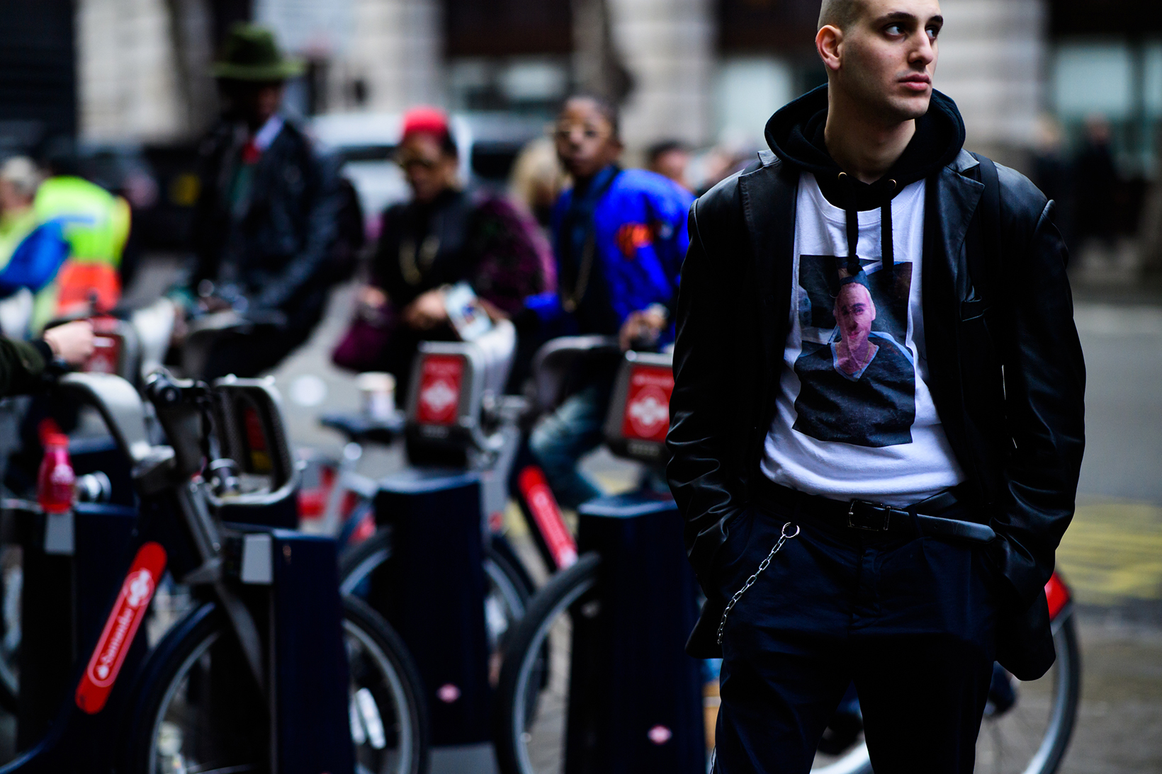 London Fashion Week 2017 Fall Winter Men's Day 4 - 1842494