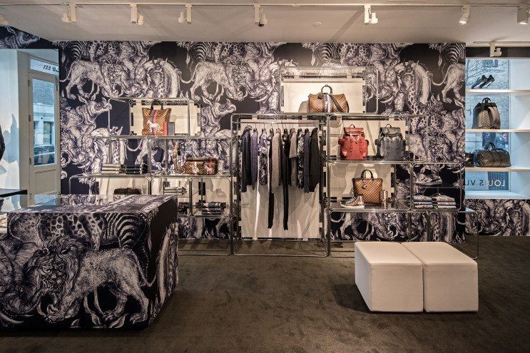 Check Out Louis Vuitton's 2017 Spring/Summer SoHo Pop-Up