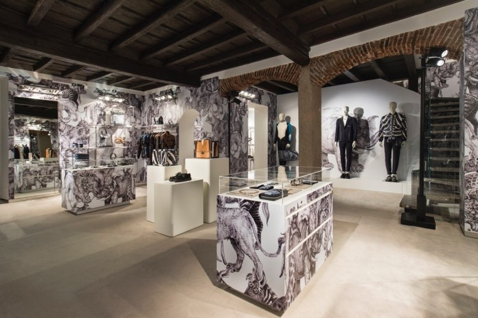 Louis Vuitton Opens Its First-Ever Men's Pop-Up Shop