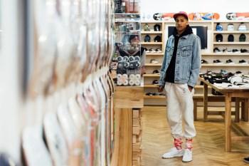 Lucien Clarke Skates to Dreamy Rap for Wayward Wheels