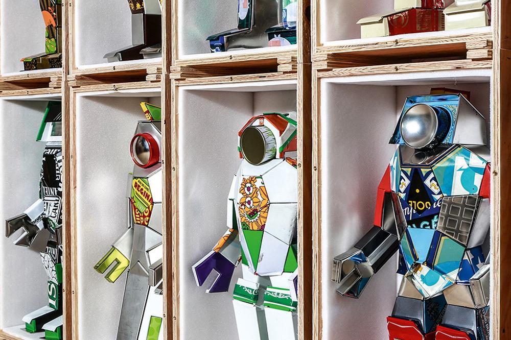 MADGallery Robot Exhibition Geneva MB&F
