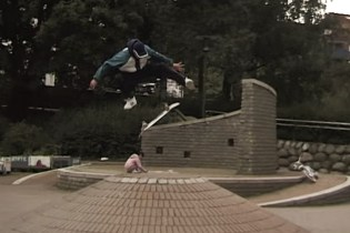 "Magnus Bordewick Is a Bat-Out-Of-Hell With a Skateboard in New ""Tigerstaden"" Part"