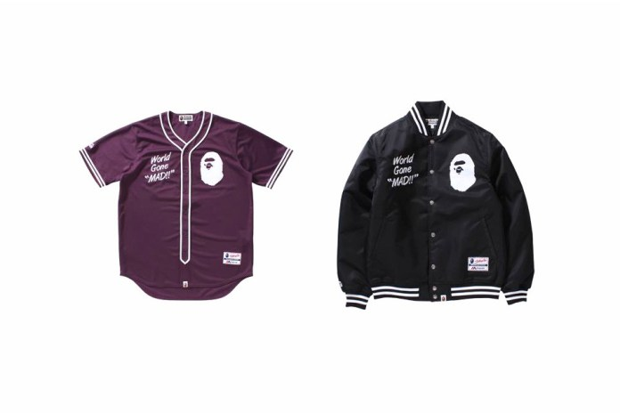 BAPE Enlists Majestic for a Limited Edition Sportswear Capsule