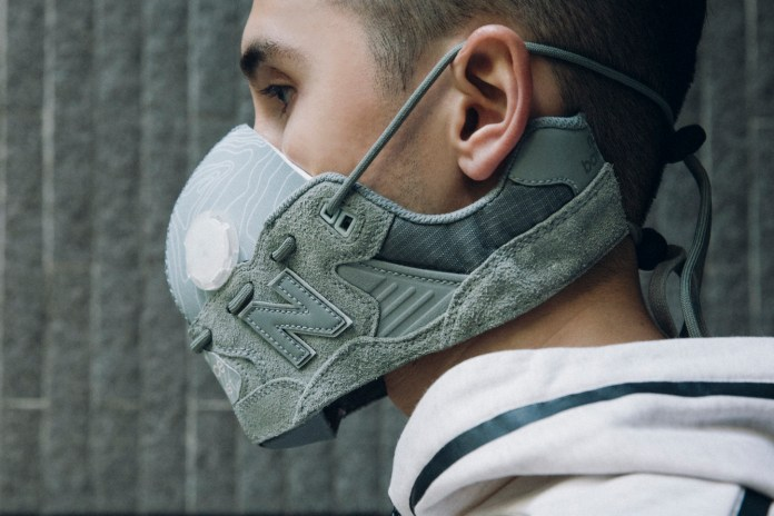 The Making of HYPEBEAST x New Balance Sneaker Mask