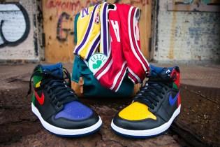 "Sneaker Customizer Malcolm Garret Presents the Air Jordan 1 ""What the Legend"" Custom"