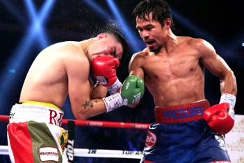 Picture of Manny Pacquiao Said He'll Fight Conor McGregor If Mayweather Doesn't