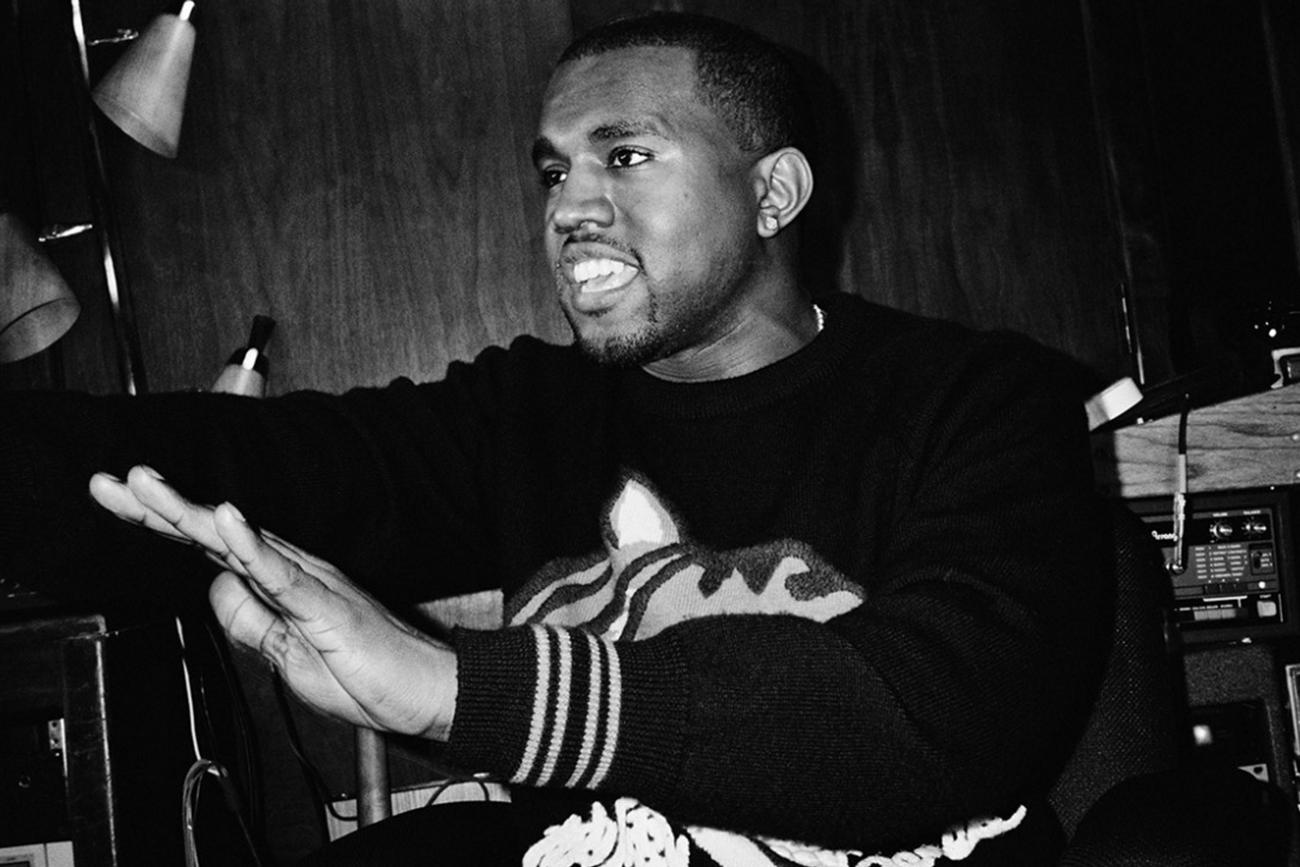 Mark Romanek Kanye West Portrait