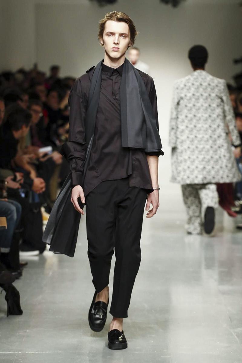 Matthew Miller 2017 Fall/Winter Collection Runway London Fashion Week Men's - 1839936