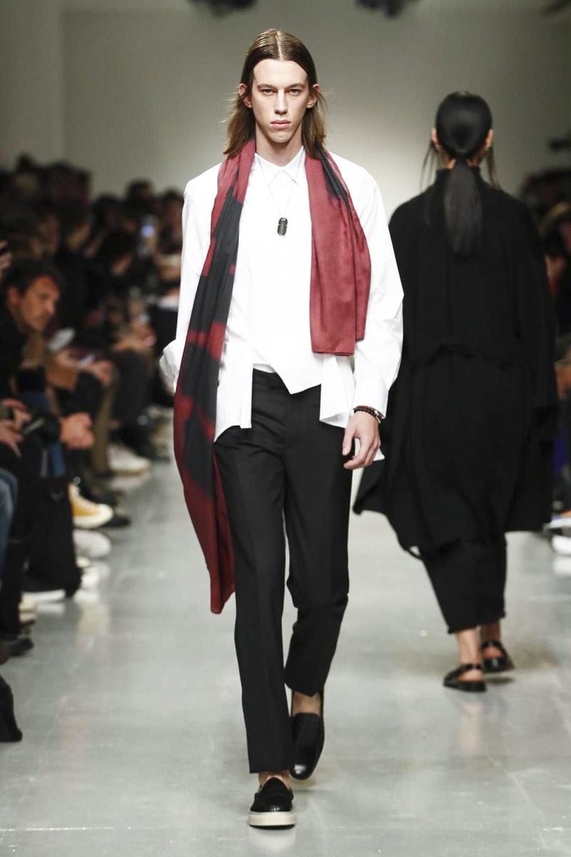 Matthew Miller 2017 Fall/Winter Collection Runway London Fashion Week Men's - 1839930