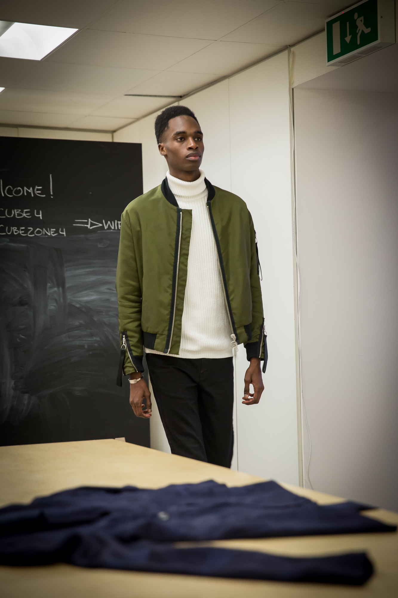 Model Casting Session For London Fashion Week: Mens Fall/Winter 2017