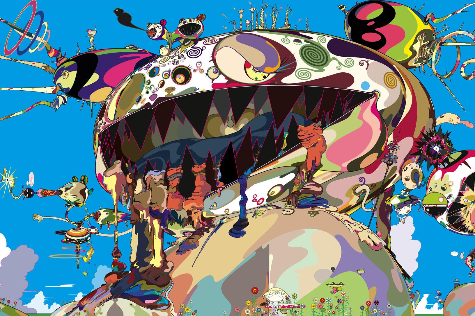 MCA Chicago Takashi Murakami Larry Clark